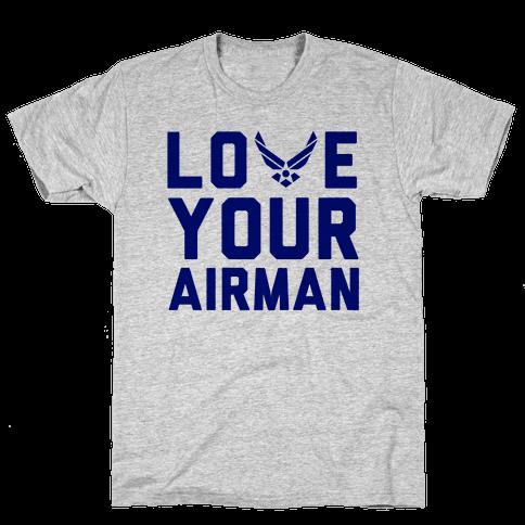 Love Your Airman Mens T-Shirt