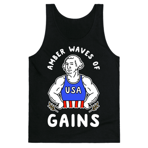 Amber Waves Of Gains Tank Top