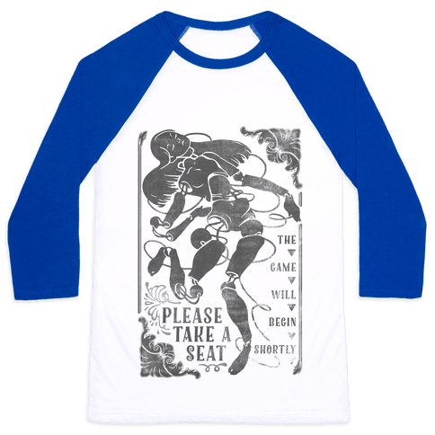 Death Parade Doll Baseball Tee