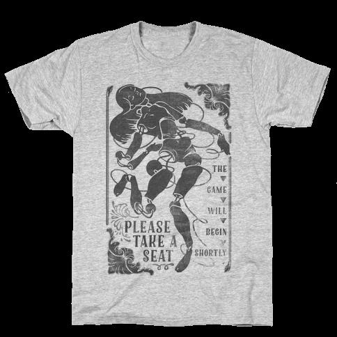 Death Parade Doll Mens T-Shirt