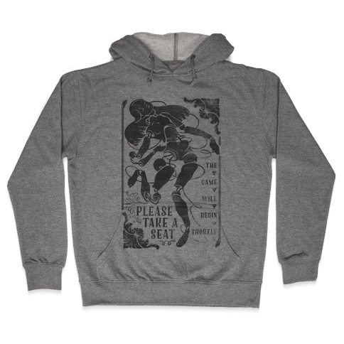 Death Parade Doll Hooded Sweatshirt