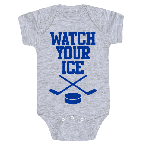Watch Your Ice Baby Onesy