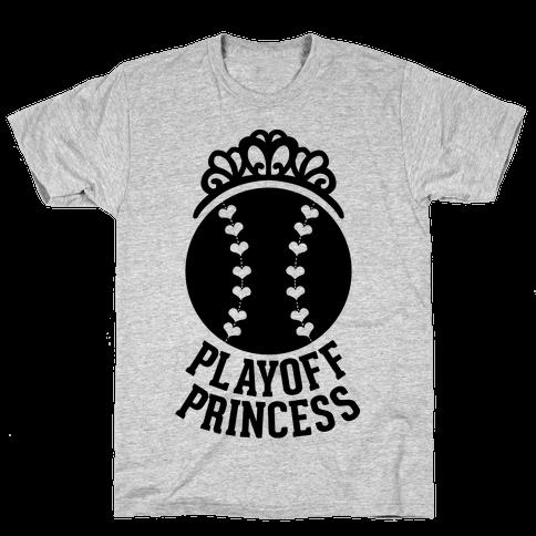 Playoff Princess (Baseball) Mens T-Shirt