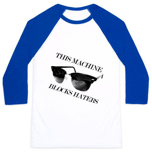 Hater Blockers Baseball Tee