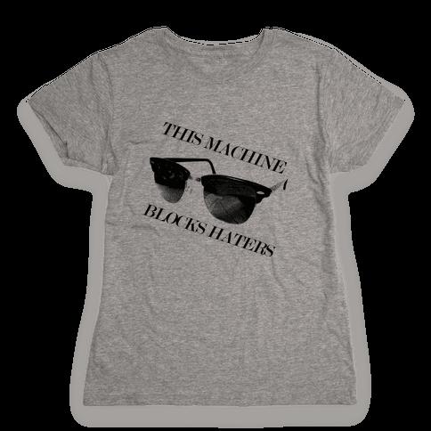 Hater Blockers Womens T-Shirt