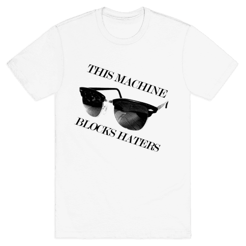 Hater Blockers Mens T-Shirt