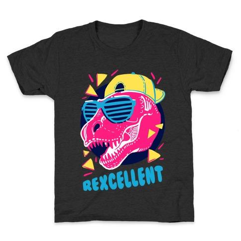 T-Rexcellent 90's Dinosaur Tyrannosaurus Kids T-Shirt