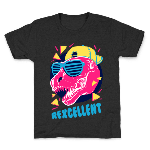 T- Rexcellent 90's Dinosaur Kids T-Shirt