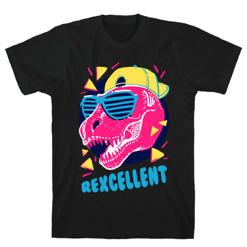 T- Rexcellent 90's Dinosaur Mens T-Shirt