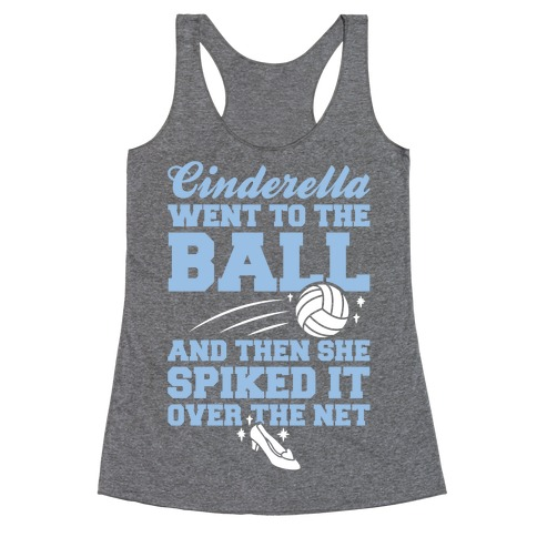 Cinderella Went To The Ball Racerback Tank Top
