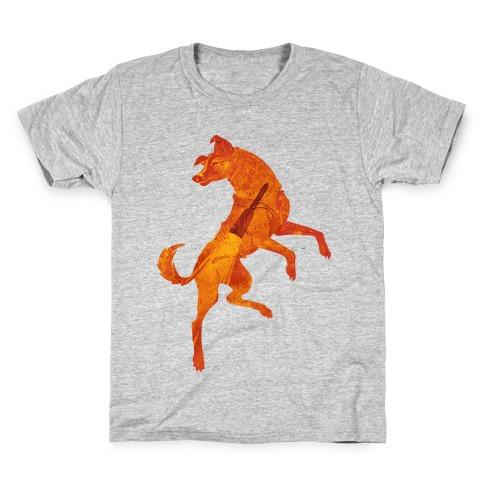 Astronaut Dog Laika Kids T-Shirt