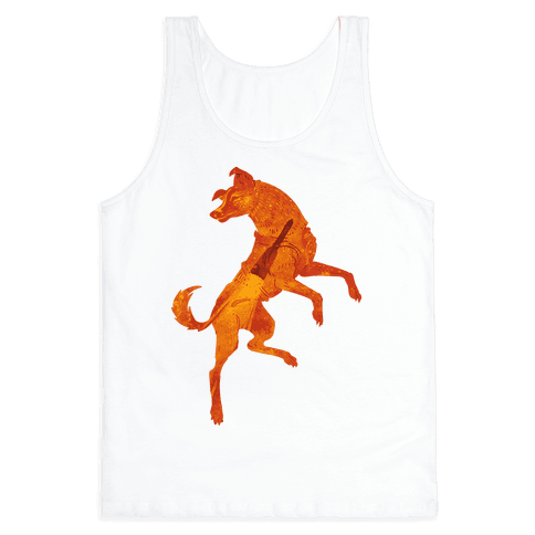 Astronaut Dog Laika Tank Top