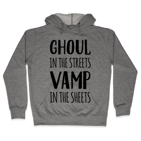 Ghoul In The Sheets Vamp In The Sheets Hooded Sweatshirt