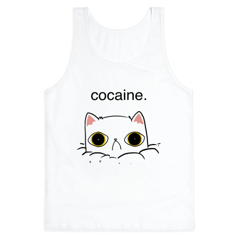 Kitty! No Cocaine! Tank Top