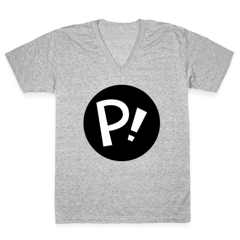 Fooly Cooly P! Sign V-Neck Tee Shirt