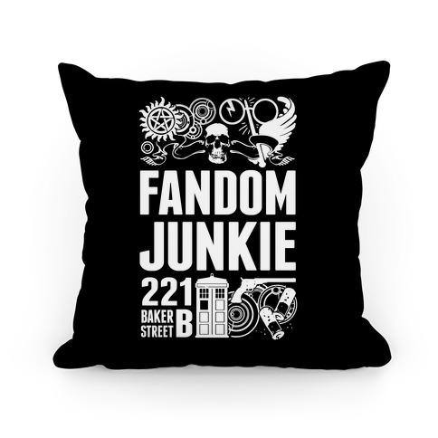 Fandom Junkie Pillow