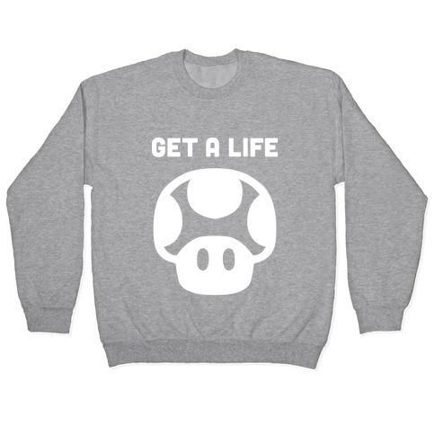 Green Mushroom (Get A Life) Pullover