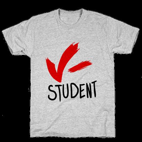 Check Minus Mens T-Shirt