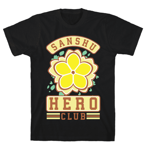 Sanshu Hero Club Fu Mens T-Shirt