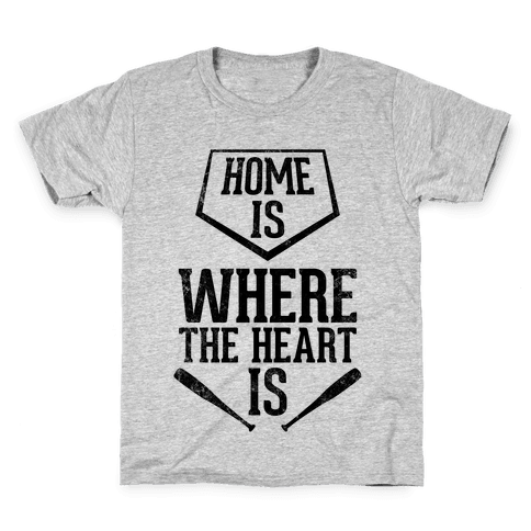 Home Is Where The Heart Is (Vintage) Kids T-Shirt