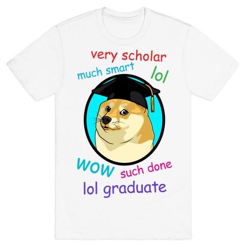 Doge Graduate T-Shirt