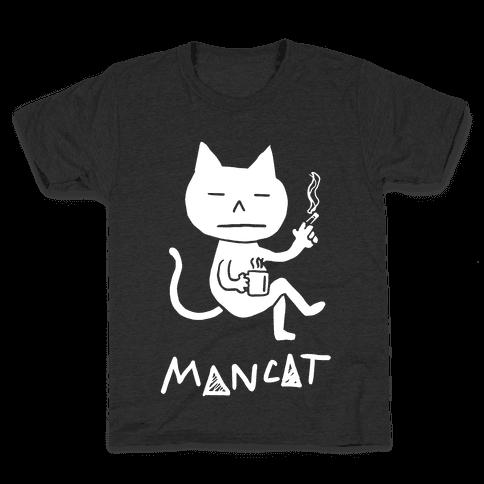 MAN CAT Kids T-Shirt