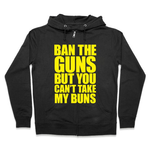 Save the Buns Zip Hoodie