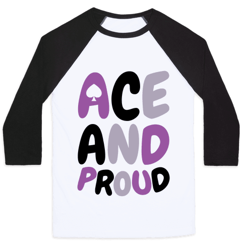 Ace And Proud Baseball Tee