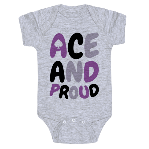 Ace And Proud Baby Onesy