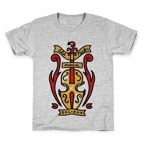 Old Nick's Musical Society Kids T-Shirt