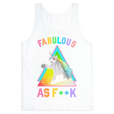 Fabulous As F*** Tank Top