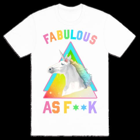 Fabulous As F*** Mens T-Shirt