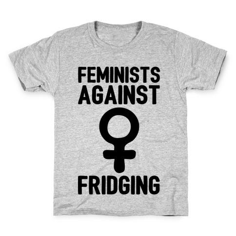 Feminists Against Fridging Kids T-Shirt