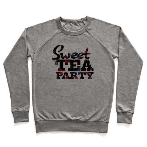 Sweet Tea Party (Colors) Pullover
