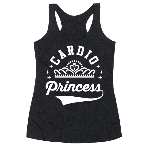 Cardio Princess Racerback Tank Top
