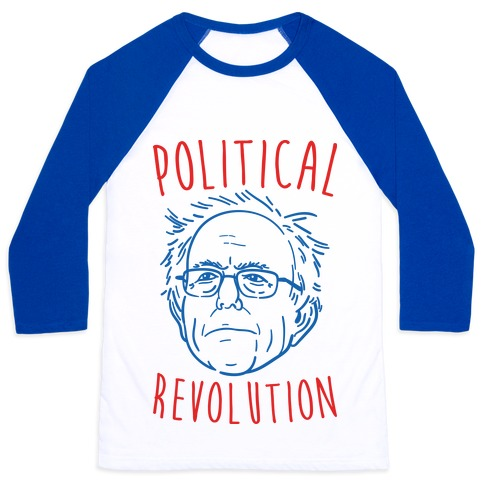Bernie Political Revolution Baseball Tee