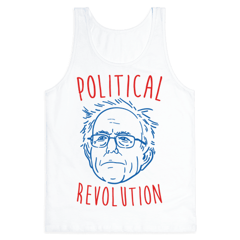 Bernie Political Revolution Tank Top