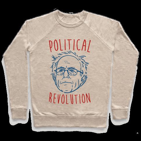 Bernie Political Revolution Pullover