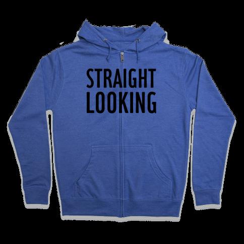 Straight Looking Zip Hoodie