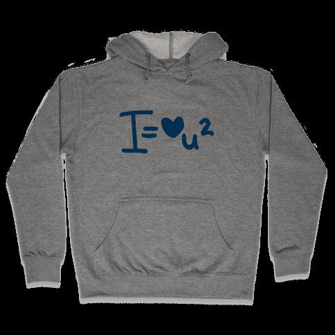 I Love You2 (Algebra Love) Hooded Sweatshirt
