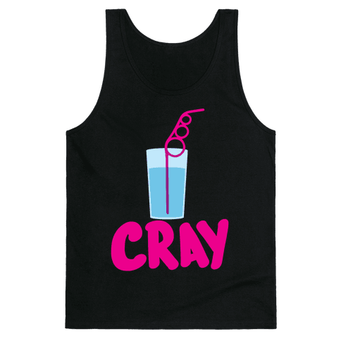 Cray-Z Straws Tank Top