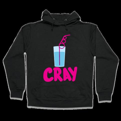 Cray-Z Straws Hooded Sweatshirt
