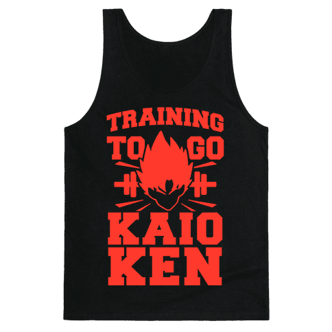 Training to Go Kaio-Ken