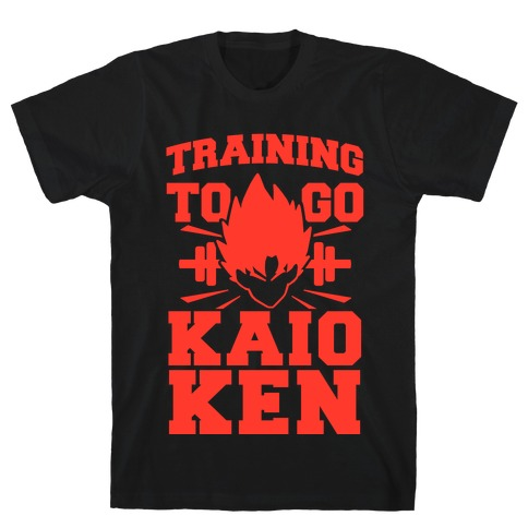 Training to Go Kaio-Ken T-Shirt