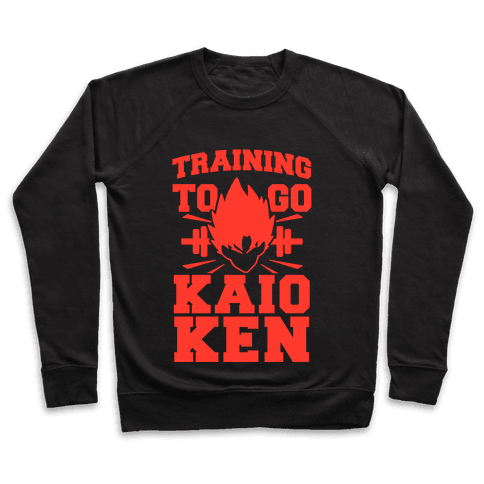 Training to Go Kaio-Ken Pullover