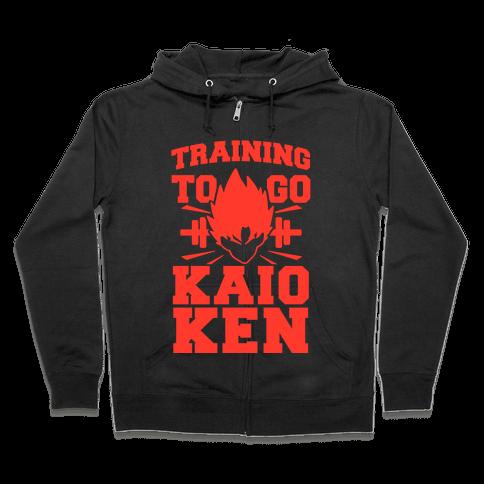 Training to Go Kaio-Ken Zip Hoodie