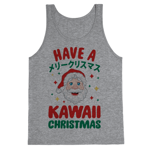 Have a Kawaii Christmas Tank Top