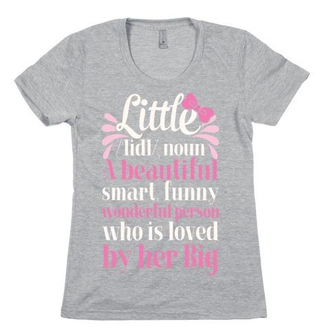 Little Definition (Sorority) Womens T-Shirt