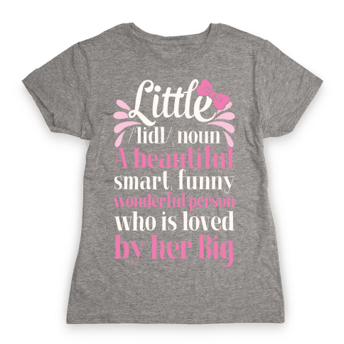 Little Definition (Sorority) Womens T-Shirt