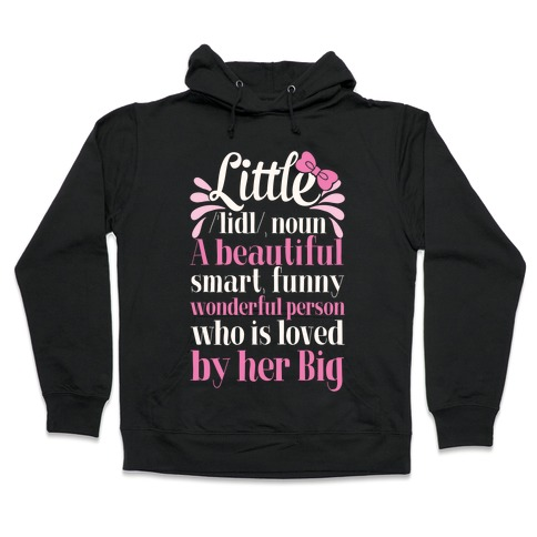 Little Definition (Sorority) Hooded Sweatshirt